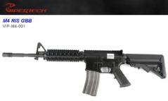 Viper-tech COLT M4a1 GBB (2018, Black body,16mm bolt)